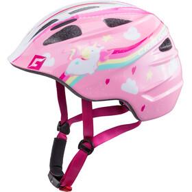 Cratoni Akino Helm Kids einhorn pink glanz